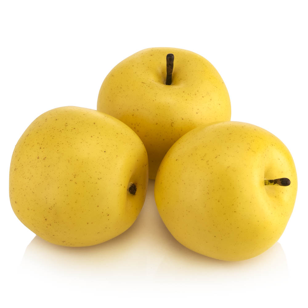 golden delicious yellow apples bag of 3. Black Bedroom Furniture Sets. Home Design Ideas